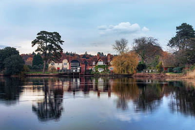 New England Village Photograph - Beaulieu - England by Joana Kruse