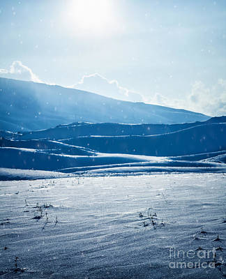 Photograph - Beautiful Winter Landscape by Anna Om