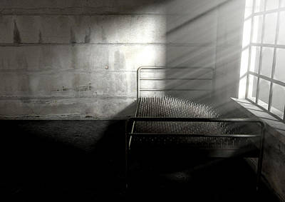 Bed Of Nails In A Room Art Print by Allan Swart