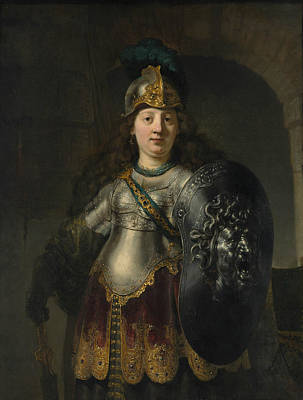 Painting - Bellona by Rembrandt