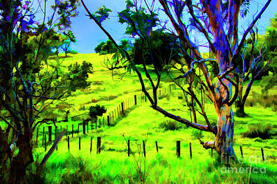 Photograph - Beyond The Fence by Rick Bragan