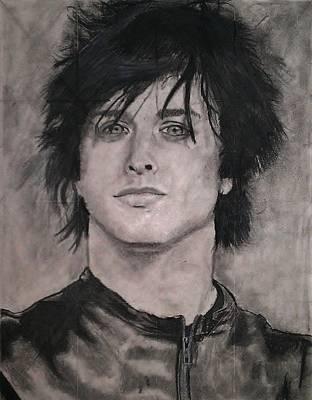 Rocker Drawing - Billie Joe Armstrong  by Brittany Frye