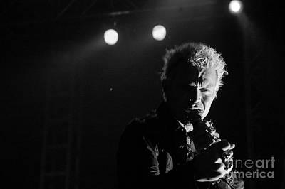 Photograph - Billy Idol by Jenny Potter