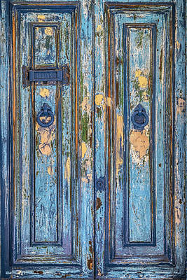Valletta Photograph - Blue Door by Joana Kruse