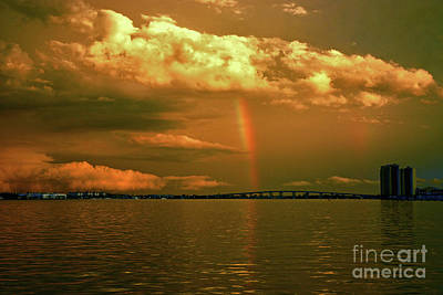 Photograph - 3- Blue Heron Bridge by Rainbows