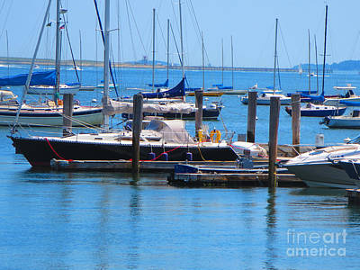 Photograph - Boats Harbour Beauty Of Boston Ma Usa America Photography By Navinjoshi Fineartamerica Pixels by Navin Joshi