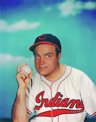 Sports Paintings - Bob Hope, Hollywood Legend by Esoterica Art Agency