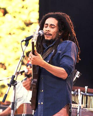 Music Photograph - Bob Marley 1979 by Chris Walter