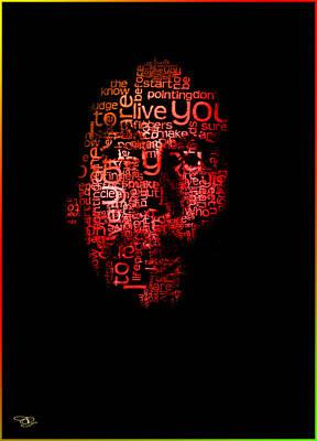 Digital Art - Bob Marley by Hay Rouleaux