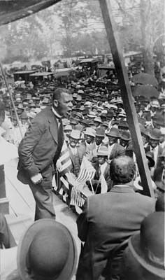 Jim Crow South Photograph - Booker T. Washington 1856-1915 by Everett