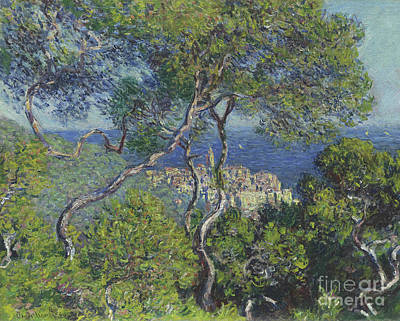 Spring Scenery Painting - Bordighera by Claude Monet