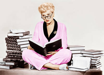 1950 Movies Photograph - Born Yesterday, Judy Holliday, 1950 by Everett