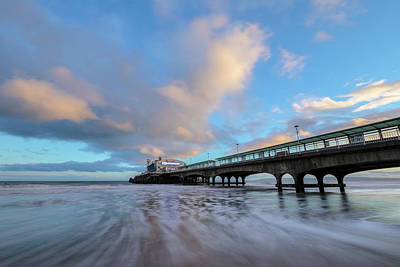 Bournemouth Photograph - Bournemouth Pier - England by Joana Kruse