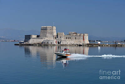 Photograph - Bourtzi Fortress by George Atsametakis