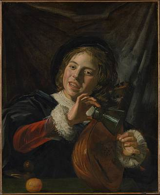 Boy With A Lute Original by Frans Hals