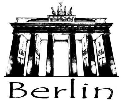 Berlin Photograph - Brandenburg Gate by Julie Woodhouse