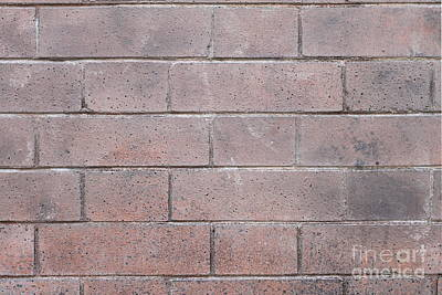 Photograph - Brick Wall by Henrik Lehnerer