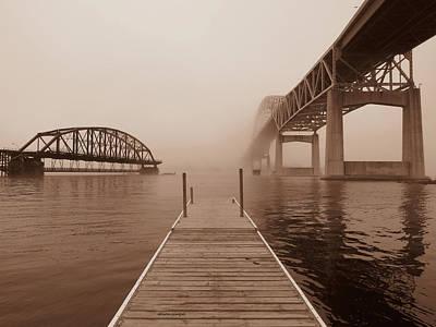 Duluth Photograph - Bridged by Alison Gimpel