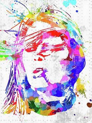 Mixed Media - Brigitte Bardot by Daniel Janda