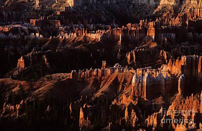 Photograph - Bryce Canyon National Park Hoodo Monoliths Sunrise Southern Utah by Jim Corwin