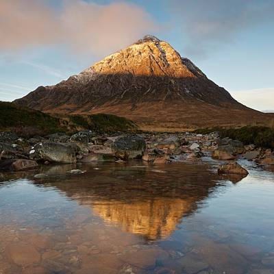 Photograph - Buachaille Etive Mor by Stephen Taylor