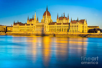 Photograph - Budapest Parliament - Hungary by Luciano Mortula