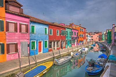 Touristic Photograph - Burano - Venice - Italy by Joana Kruse
