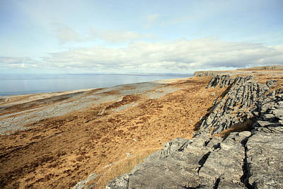 Fanore Photograph - Burren View by John Quinn