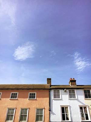 Photograph - Bury St Edmunds Buildings by Tom Gowanlock