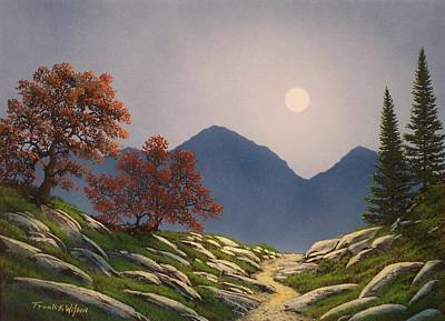 Painting - By The Light Of The Moon by Frank Wilson