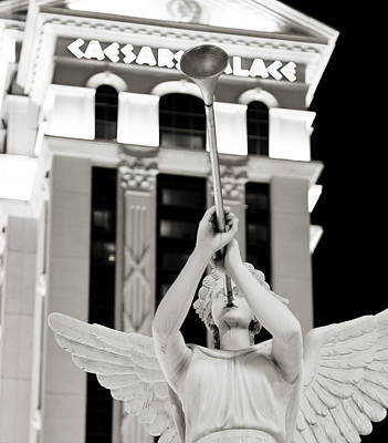 Photograph - Caesars Palace by Ricky Barnard