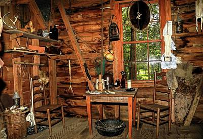 Photograph - Cajun Cabin by Ronald Olivier