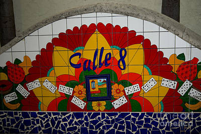 Calle Ocho Cuban Festival Miami Art Print