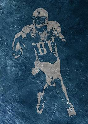 Photograph - Calvin Johnson Lions by Joe Hamilton