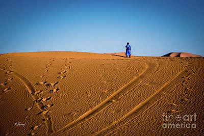 Photograph - Tracks In The Sahara by Rene Triay Photography