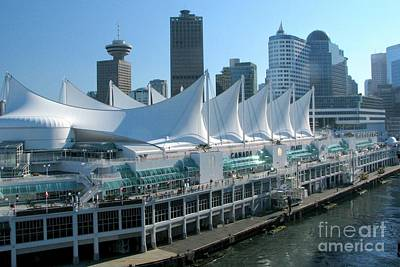 Photograph - Canada Place by Frank Townsley