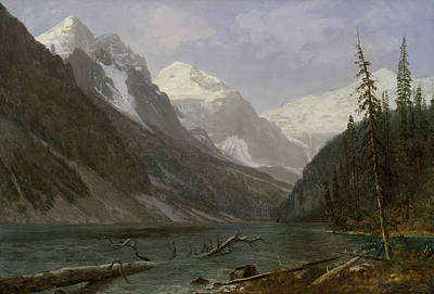 Painting - Canadian Rockies by Albert Bierstadt