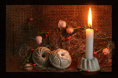3 Candle Light Gifts Beton Original by Heike Hultsch