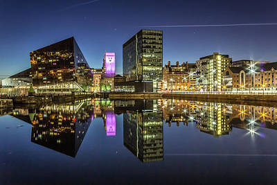 Albert Dock Photograph - Canning Dock - Liverpool by Paul Madden