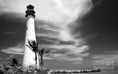 Cape Florida Lighthouse Photograph - Cape Florida Lighthouse by Skip Willits