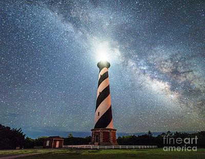 Photograph - Cape Hatteras Light House  by Robert Loe