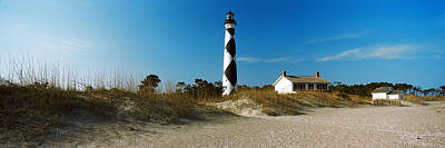 Cape Lookout Lighthouse, Outer Banks Art Print