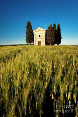 Photograph - Cappella Di Vitaleta by Brian Jannsen