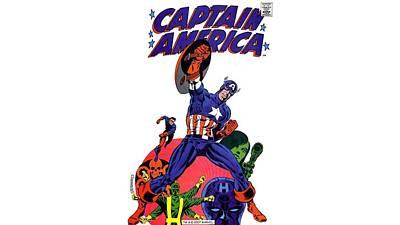 Artwork Digital Art - Captain America by Maye Loeser