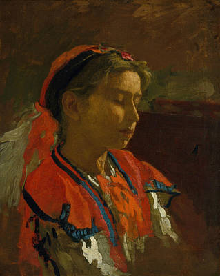Painting - Carmelita Requena by Thomas Eakins