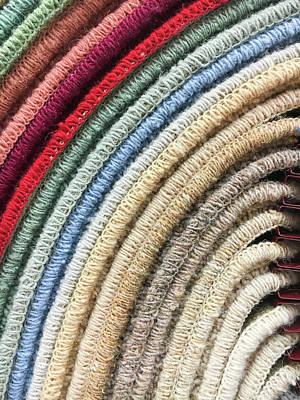 Carpet Colours Art Print by Tom Gowanlock