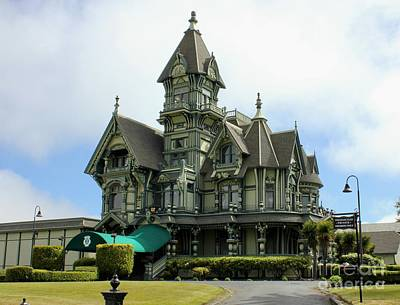 Photograph - Carson Mansion by Douglas Miller