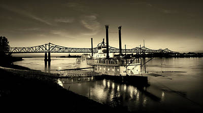 Photograph - Casino Boat On The Mississippi by L O C