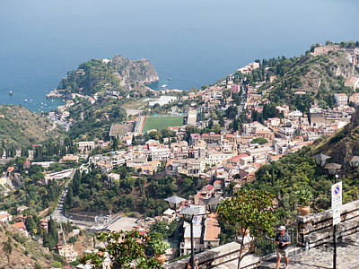 Photograph - Castelmola Vista by Rod Jones