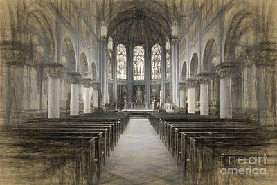 Photograph - Cathedral by Cecil Fuselier